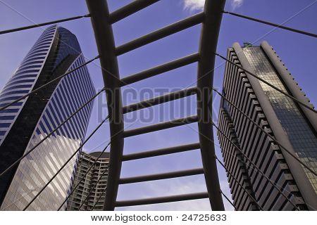Cityscape scenes of Sathorn Bangkok