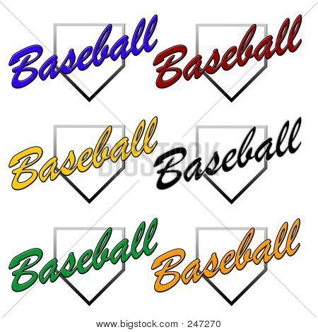 Generic Baseball Logos