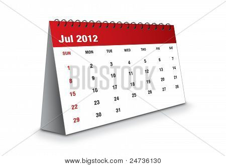 July 2012 - The Calendar series