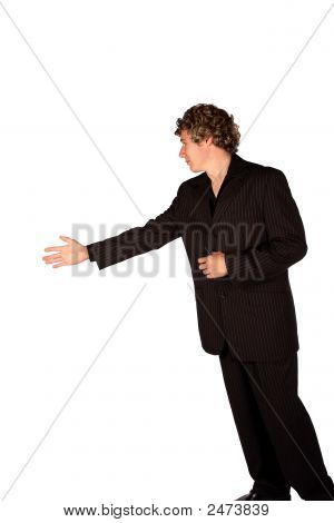 Hand Shake Man