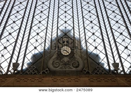 Atocha Station Clock