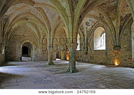 Room In French Abbey