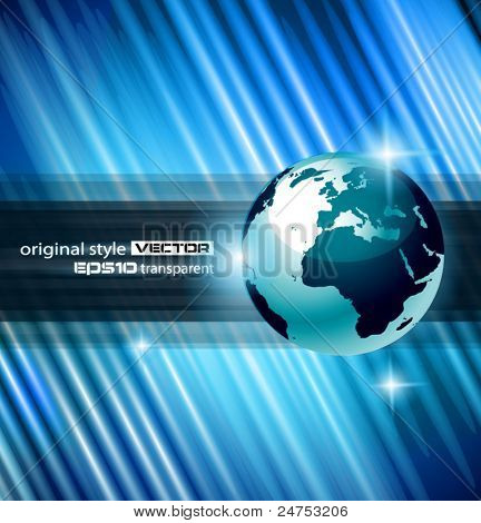 Hi-tech Abstract Business Background with Abstract Glowing motive to use for corporate presentation flyers or posters.