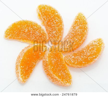Handmade Orange Fruit Jellies