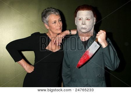 LOS ANGELES - OCT 30:  Jamie Lee Curtis &