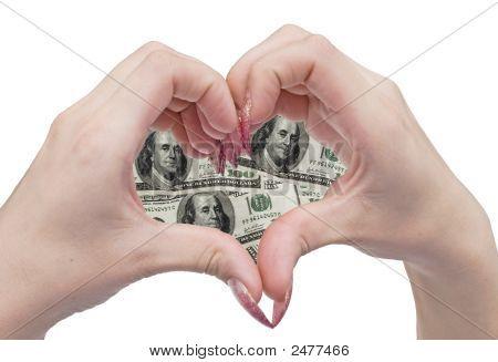 Money Heart And Hands