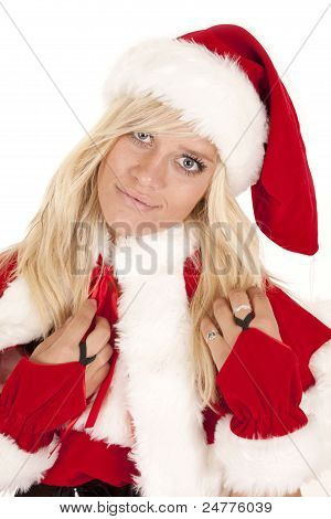 Mrs Santa Close Happy