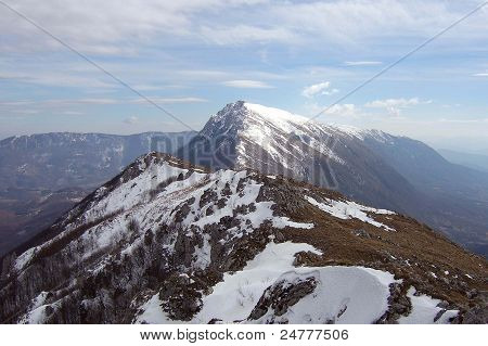 A powerfull mountain