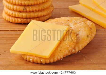 Cracker With Cheese