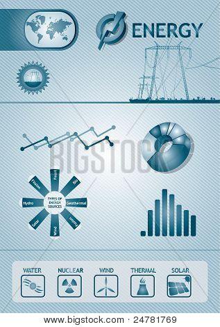 Infographic Energy Chart
