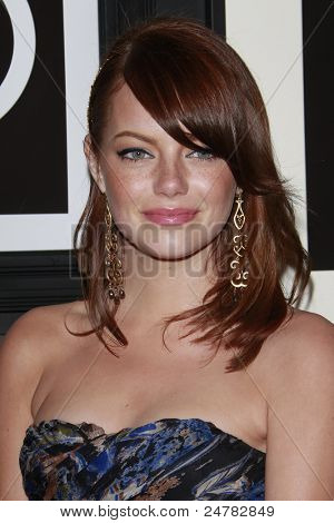 LOS ANGELES - JUNE 1: Emma Stone at the Target & Converse Party at the Lot on June 1, 2008 in Los Angeles, California