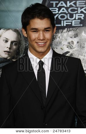 LOS ANGELES - FEB 16: Booboo Stewart at the premiere of 'Unknown' held at the Regency Village Theater in Los Angeles, California on February 16, 2011