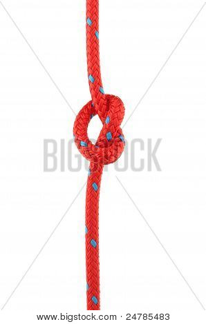 Knot In Red Rope