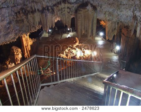 Bellamar Caves Lighted Entrance Stairway