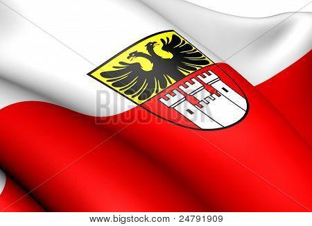 Bandera de Duisburg