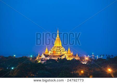 Ananda Temple In Bagan, Myanmar. .