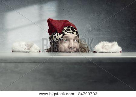 Crazy Santa Claus
