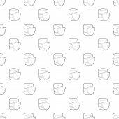 Safe Database Icon. Outline Illustration Of Safe Database Vector Icon For Web poster