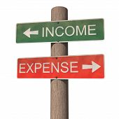 Income And Expense Signpost