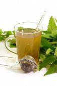 Glass Of Herbal Tea poster