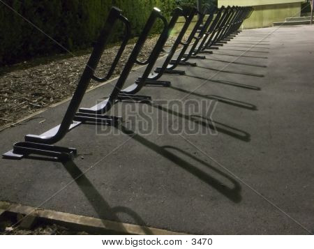 Night Bike Rack