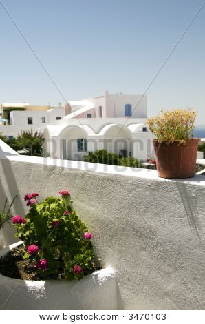 Cyclades Architecture Greek Island Santorini