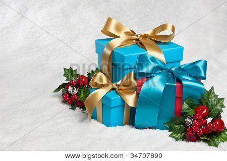 Presente na decoração festiva