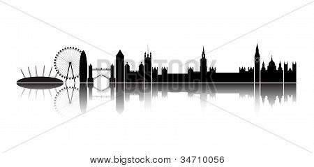 Skyline London City.