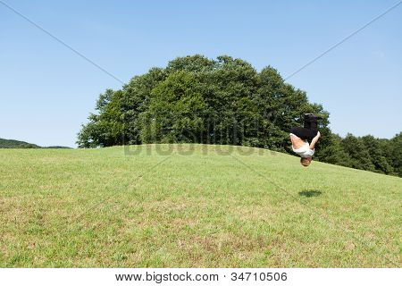 Somersault In The Nature