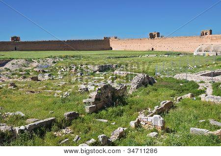 Castle of Lucera. Puglia. Italy.