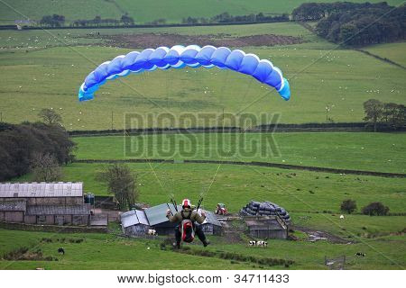 Speedflyer over Lancashire
