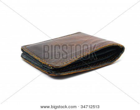 Old Leather Wallet