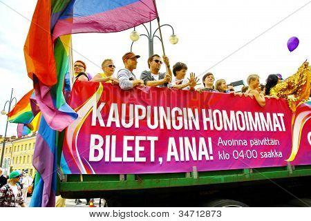 Helsinki Pride Homosexuellen-parade