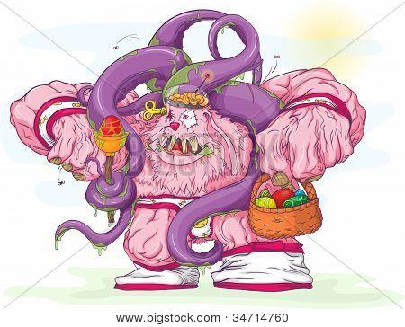 Easter Bunny-monster