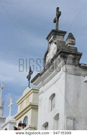 Cemetery in Cotacachi