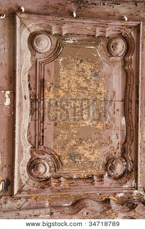 Ancient Wooden Door Fragment.