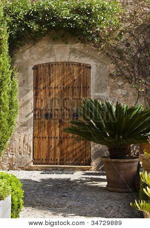 Rustic Door, Majorca