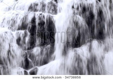 Waterfall, Detail