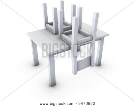 Chairs On Table