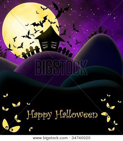 Happy Halloween Ilustration