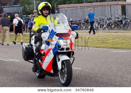 Dutch Police Motorbike