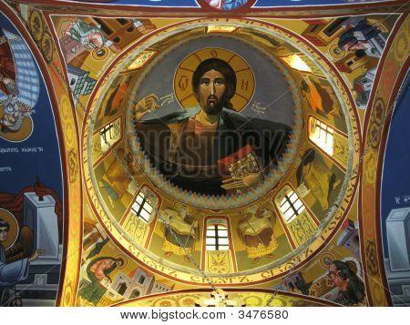 Inside Illustration Of Main Church Dome