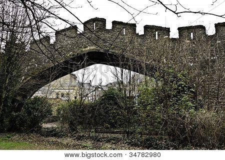 Railroad Bridge Conwy, Wales