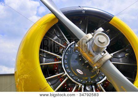 Plane close up