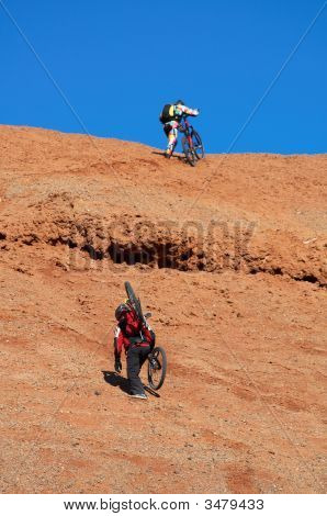 Biking Uphill