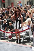 LOS ANGELES - JUL 10: Perla (wife of Slash) at a ceremony where Slash is honored with the 2,473rd St