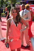 LOS ANGELES - JUL 11:  Bonnie-Jill Laflin arrives at the 2012 ESPY Awards at Nokia Theater at LA Liv