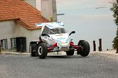 Foz Do Arelho, Portugal - May 13: Unknow Driver Drives A Rally Cross Prototype During Rally Sprint F