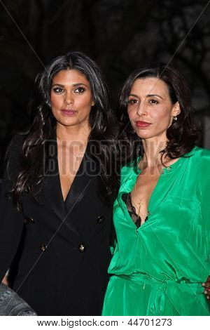 NEW YORK, NY - APRIL 16: Rachel Roy and Drena De Niro attend Vanity Fair Party for the 2013 Tribeca Film Festival on April 16, 2013 in New York City.