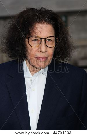 NEW YORK, NY - APRIL 16: Author Fran Lebowitz attends Vanity Fair Party for the 2013 Tribeca Film Festival on April 16, 2013 in New York City.